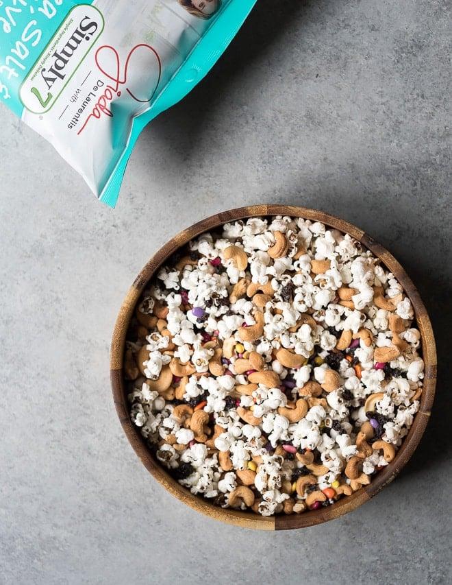 Popcorn Trail Mix