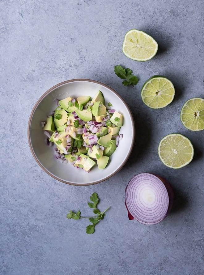 Spice Roasted Halibut w- Avocado Salsa