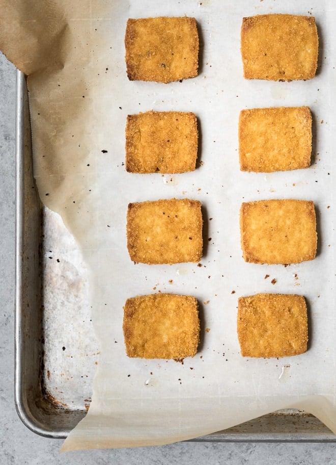 Crispy Cornflake Baked Tofu