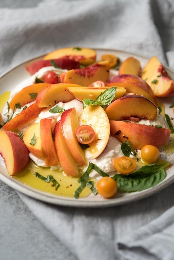 Stone Fruit & Burrata Salad