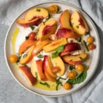 Stone Fruit & Burrata Salad