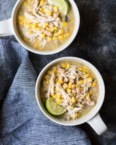 Coconut Lime White Chicken Chili