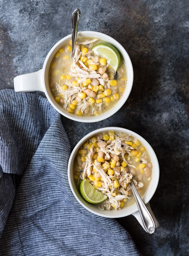 Coconut Lime White Chicken Chili Life Is But A Dish