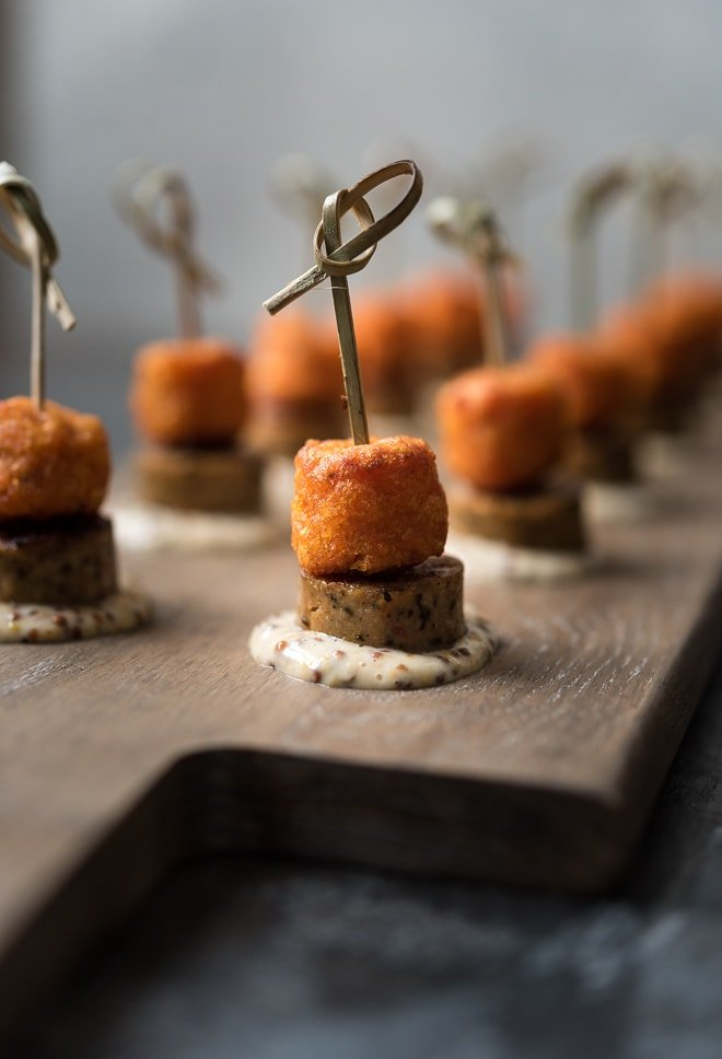 Chicken Sausage Sweet Potato Bites