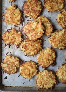 Oven Baked Potato Latkes
