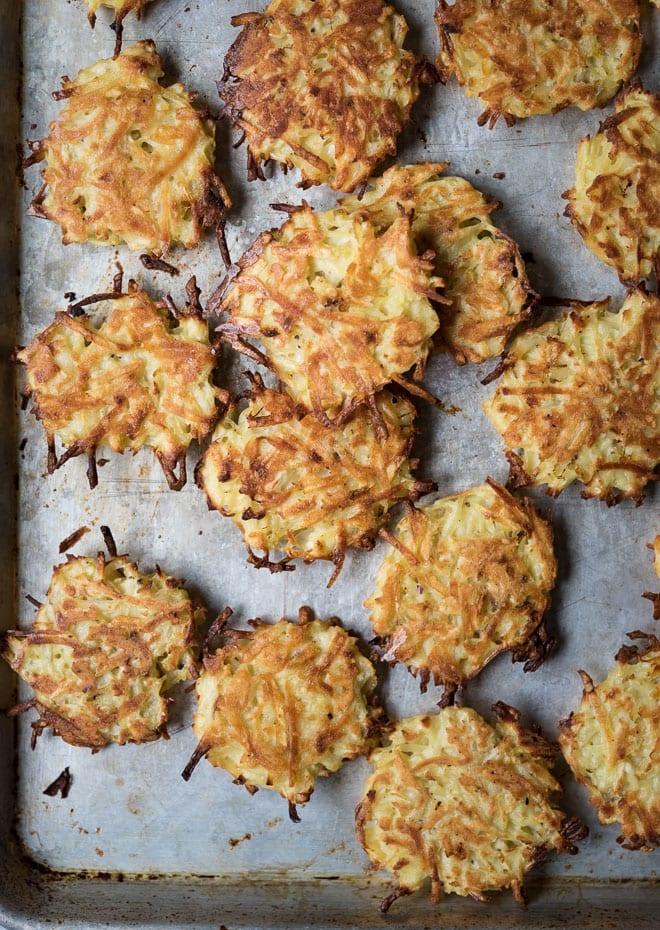Oven Baked Potato Latkes Life Is But A Dish