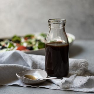 Easy Maple Balsamic Dressing