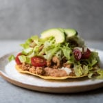 Ground Turkey Tostadas