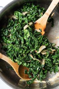 Simple Sautéed Kale