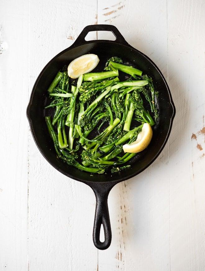 Skillet Broccolini