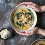 veggie coconut soup
