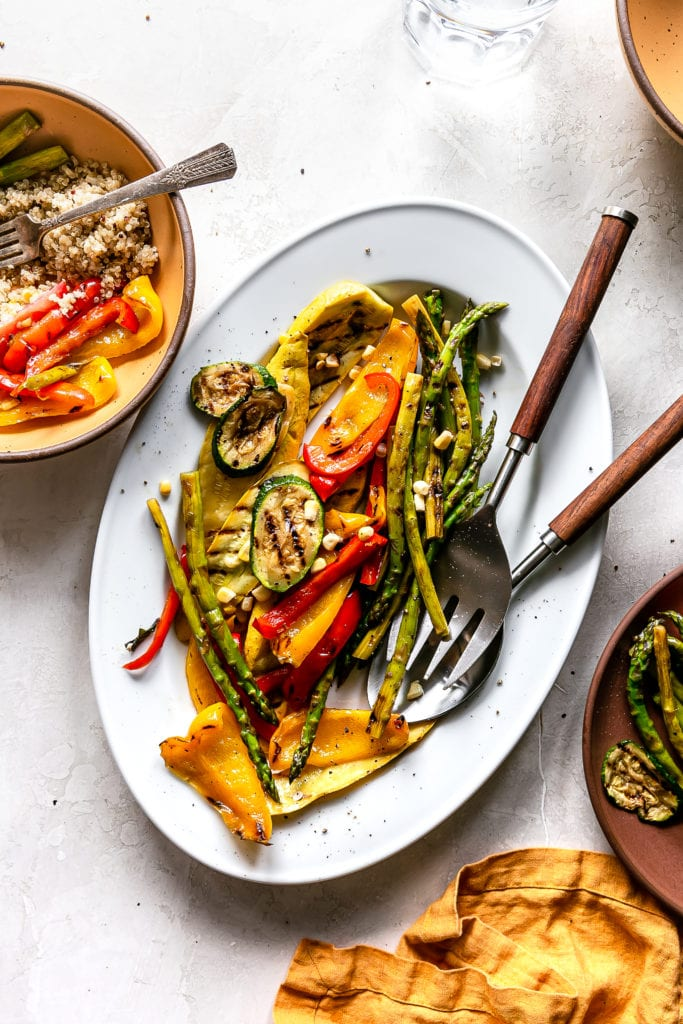 Grilled Veggie Platter Life Is But A Dish