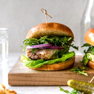 zucchini apple turkey burger