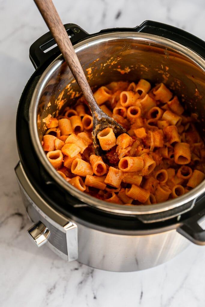 Instant Pot Butternut Squash Pasta