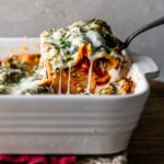 No-Fuss Spinach Lasagna