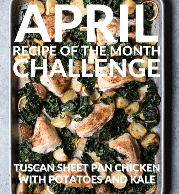 April Recipe of the Month Challenge