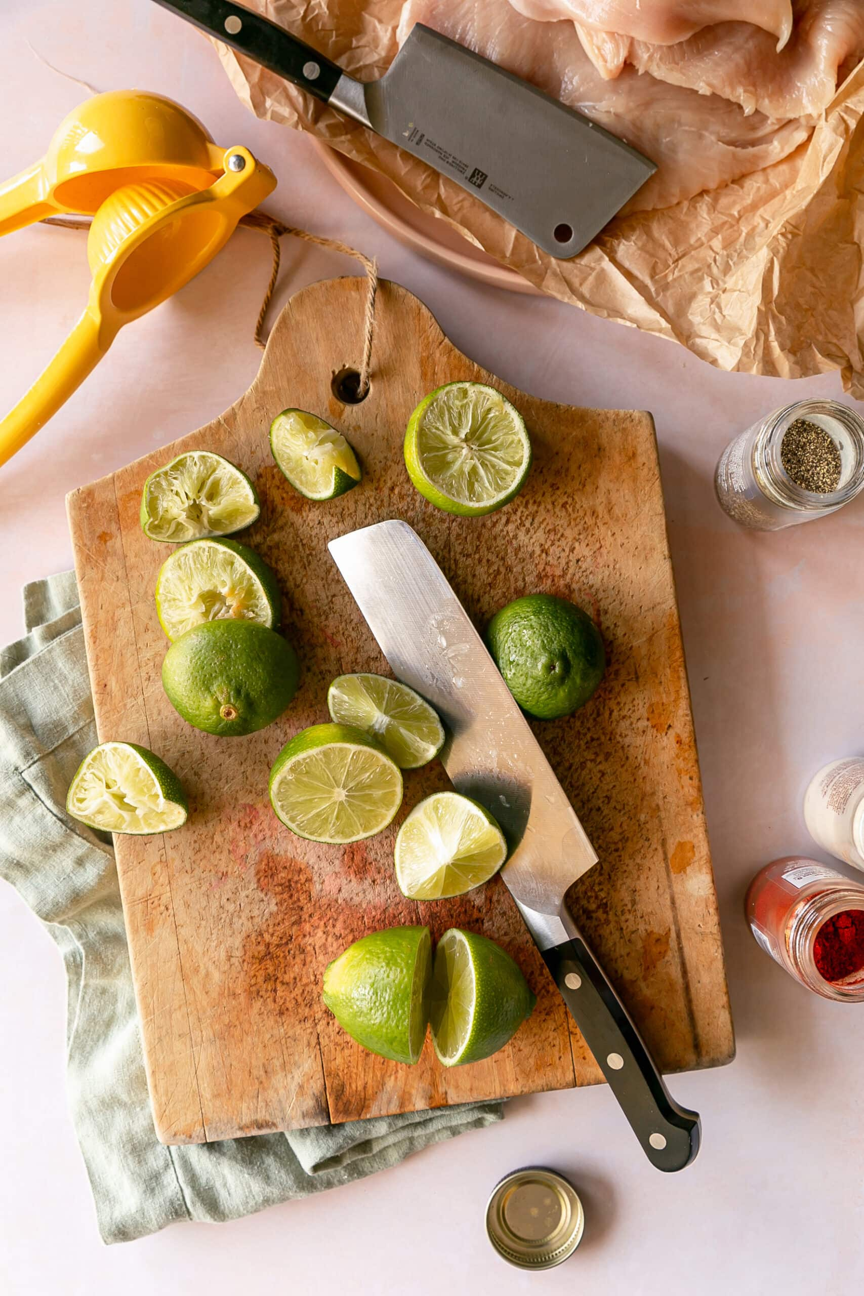 Easy Mexican Lime Chicken Marinade
