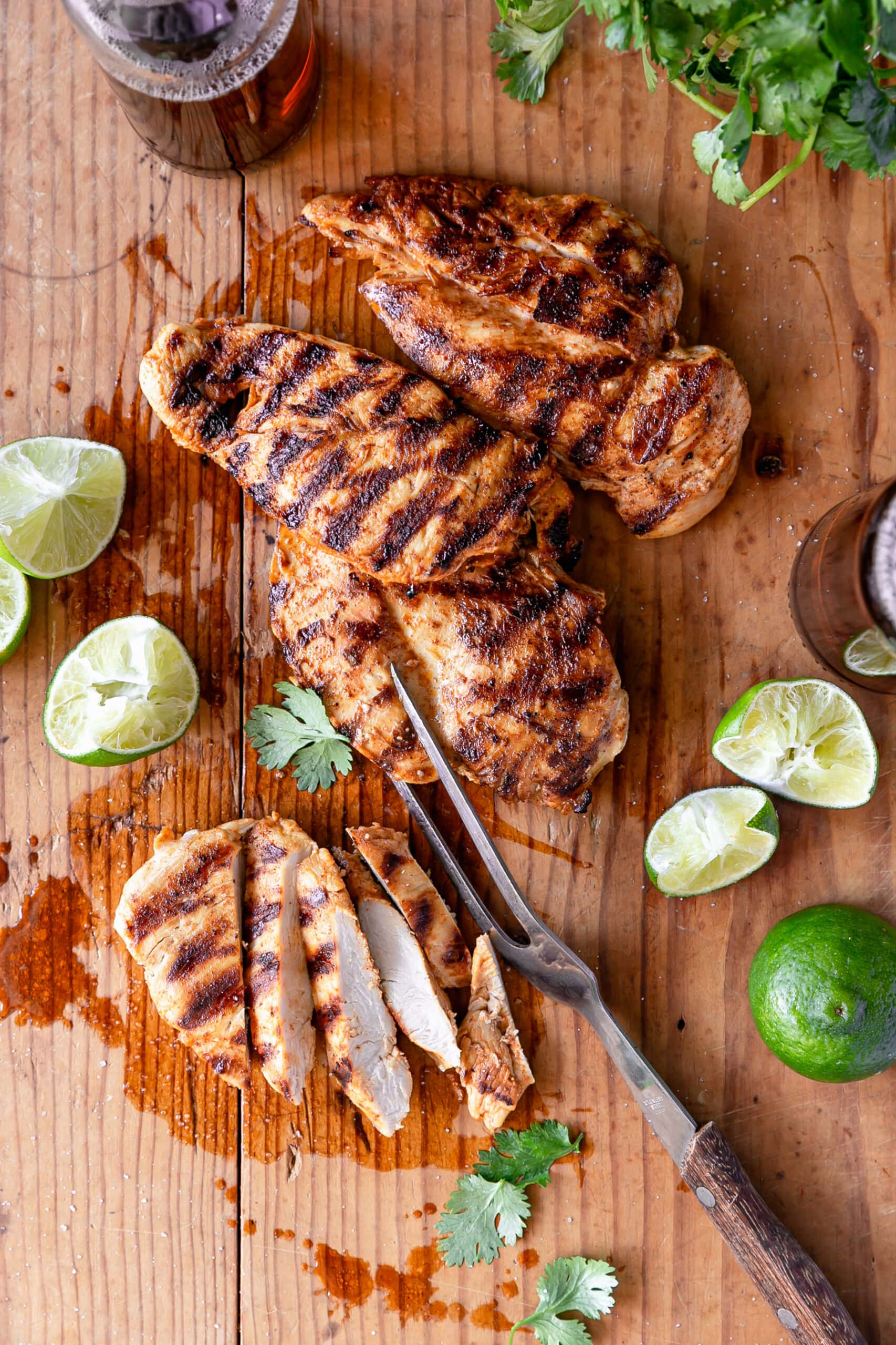 Mexican Lime Grilled Chicken